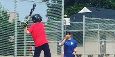coach toss batting practice
